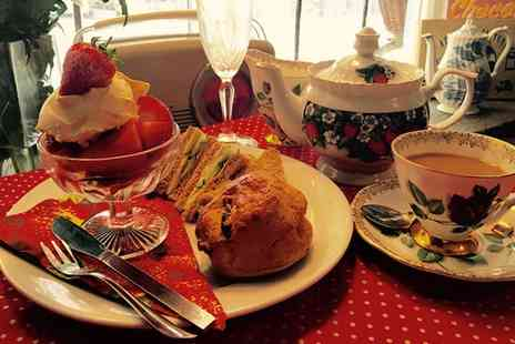 Lion Rock Tea Rooms - Strawberry Afternoon Tea for Two or Four - Save 50%