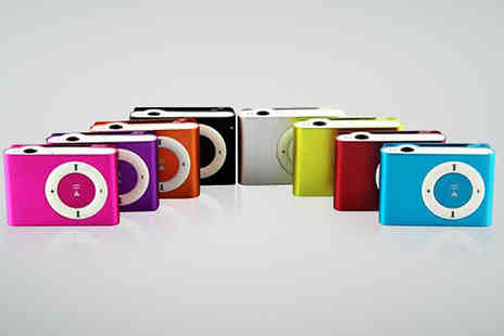 eBuzz - Up to 8GB Shuffle MP3 Player Eight Colours - Save 80%