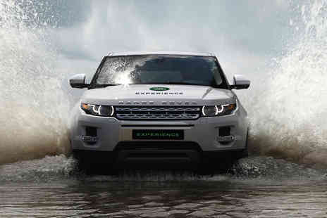 Brandscape - 30 minute junior Land Rover off road driving experience - Save 0%