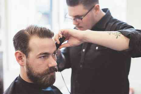 The Wright Barber - Mens Cut and Finish with Optional Beard Trim or Shape - Save 36%