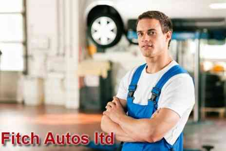 Fitch Autos Ltd - 54 Point Car Service for £49 - Save 64%