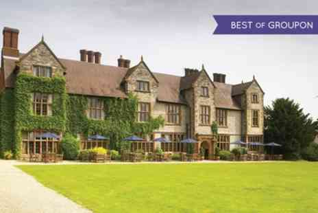 Billesley Manor Hotel - One or Two Nights Stay For Two With Breakfast, Dinner, Wine and Leisure Access - Save 0%