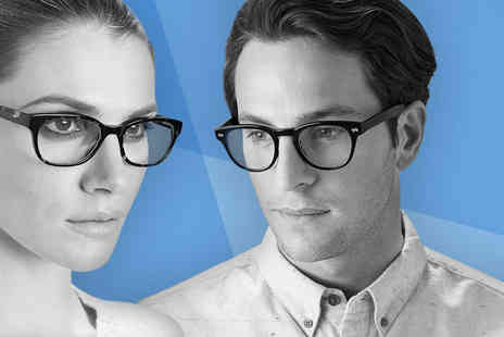 Glasses Direct - Two pairs of £55 glasses from the 2 for 1 range choose from two lens types - Save 65%
