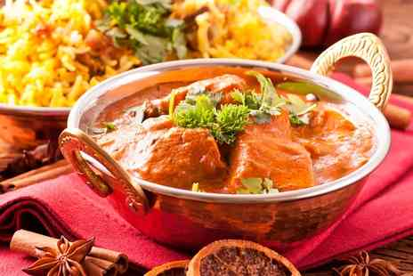 Ashoka Shak - Indian Meal with Rice and Cocktail for Two or Four - Save 69%