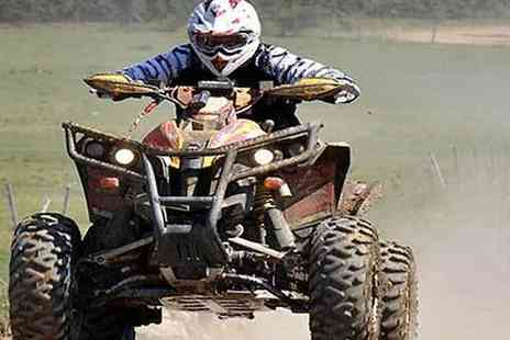Hovercraft Adventures - 5 Mile Quad Biking Experience For One or Two - Save 0%