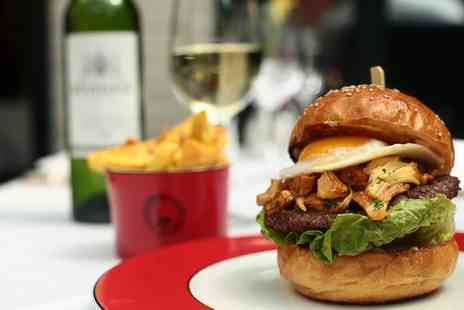 Boisdale Canary Wharf - Wagyu Burger Meal with Prosecco for Two - Save 50%