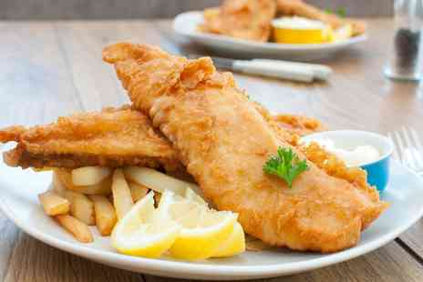 Pavilion Restaurant - Fish and Chips for Two or Four - Save 50%