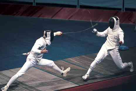 Central London Fencing Club - Two Hour Fencing Taster Session for One -  Save 53%