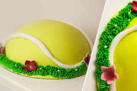 Buckleys Bakery - 8 Inch personalised Wimbledon cake including delivery - Save 80%