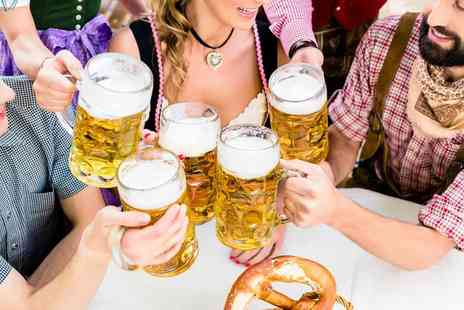 German Bierfest - Two tickets to Sheffield, Coventry or Leicester Oktoberfest  - Save 50%