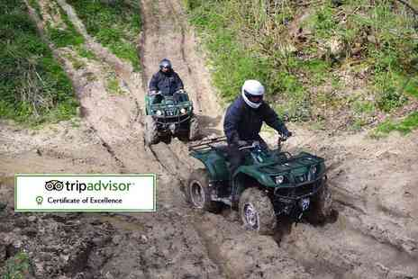 True Grip Off Road - One hour quad biking experience for one - Save 48%