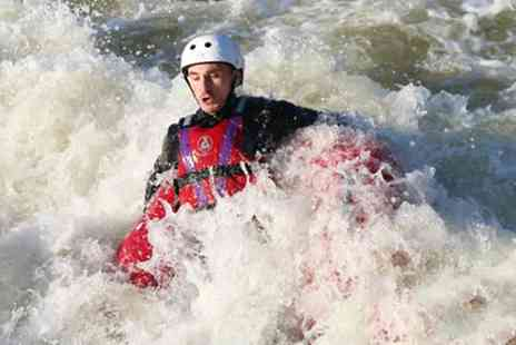 National Water Sports Centre - White Water Tubing Session for Two or Four - Save 50%