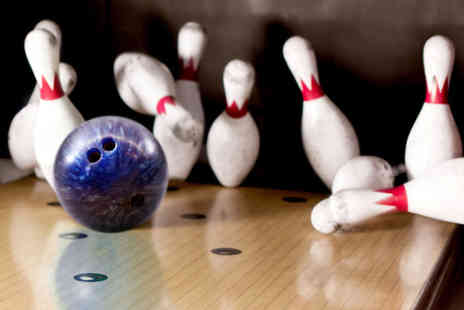 MFA Bowl - Two games of ten pin bowling for two with a hot dog or chips each - Save 61%