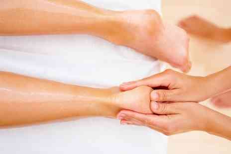Claireflex - One Hour Reflexology Session or 30 Minute Reiki and 30 Minute Reflexology Session - Save 37%