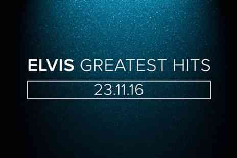 Elvis Greatest Hits - Tapas Dining Experience for Two with Wine and Live Greatest Hits of Elvis - Save 0%
