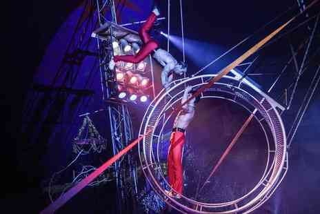 Russells International Circus - Two or Five Front Circle Day Tickets to See Russells International Circus, Jubilee Fields, 7 To 10 July - Save 70%