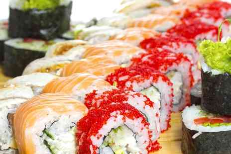 Sakura - Two Course Sushi and Seafood Meal for Two or Four - Save 0%