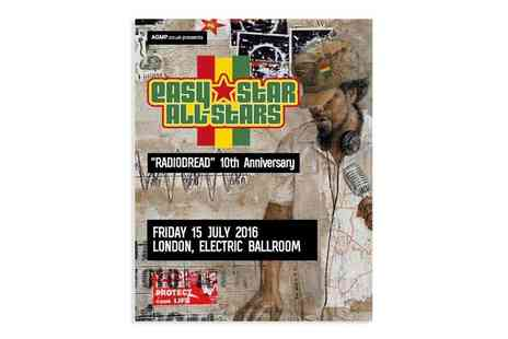 Easy Star All Stars - One Ticket Easy Star All Stars RADIODREAD 10th Anniversary Concert on 15 July - Save 25%