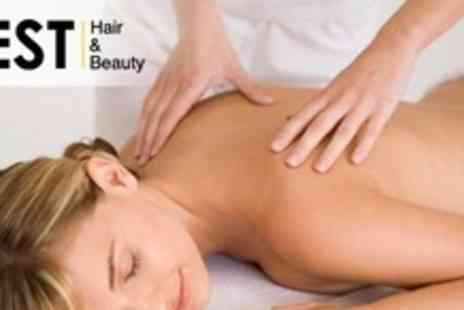 Zest Hair and Beauty - Swedish Full Body Massage - Save 60%