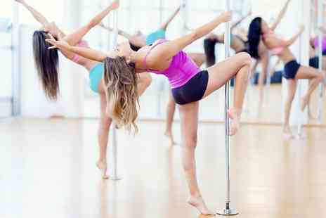 A Pole New Adventure - Up to Ten One Hour Pole Dancing Classes for One or Two - Save 43%