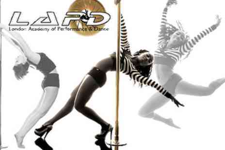 LAPD - £74 for a 6 Week Poledancing Course at a Choice of 18 London Locations - Save 51%