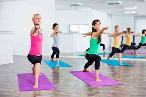 Fitness on Fire - 10 hot yoga sessions - Save 0%