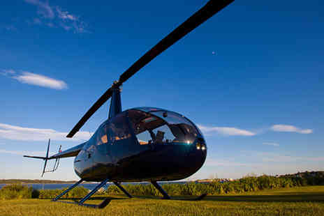 Hields Aviation - Helicopter buzz flying experience - Save 0%