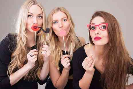 Photo Booth Hire London - Three hour photobooth hire for throw a memorable party - Save 58%