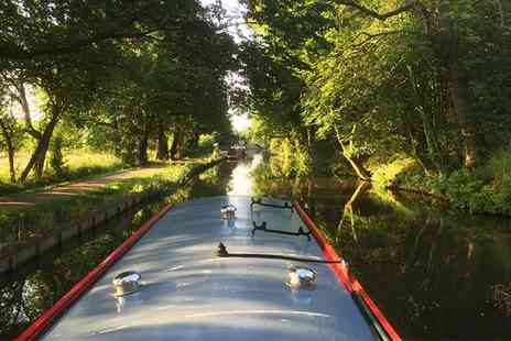 Lancashire Canal Cruises - Afternoon Tea Canal Cruise for Up to Four - Save 0%