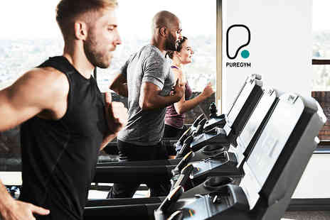 Pure Gym - 10 non consecutive gym day passes - Save 90%