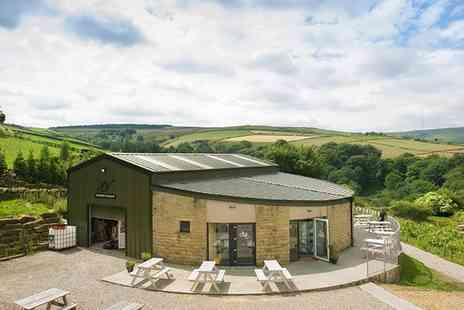 Holmfirth Vineyard - Vineyard Tour with a Two Course Lunch, Wine Tasting and a Bottle of Wine for Two or Four - Save 51%