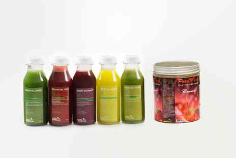 Pure Viva Cleanse - Three, Five or Seven days juice cleanse - Save 40%