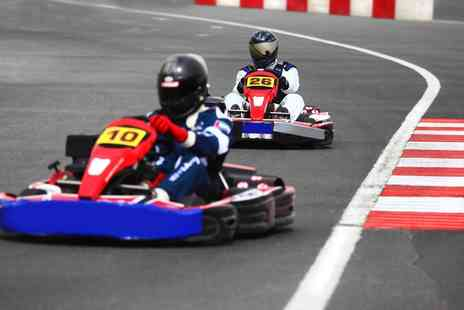 Knockhill Racing Circuit - 30 Minute Karting Session for One Adult and Child or Two Adults and Two Children - Save 50%