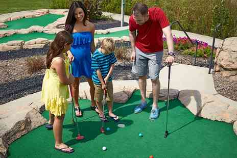 Captains Bay Adventure Golf - 18 Holes of Mini Golf for Up to Four or a Family - Save 0%