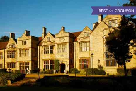 Redworth Hall Hotel - One or Two Nights Stay for Two with Breakfast, Dinner, Wine, and Leisure Access - Save 0%