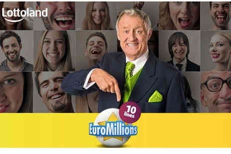 Lottoland - 10 EuroMillions line bets in Tuesday or Friday draws - Save 50%
