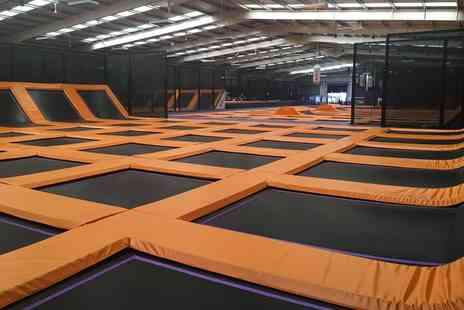 Velocity Trampoline Parks - One hour trampolining session - Save 44%