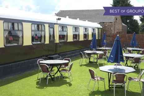The Sidings - One or Two Night Stay in a Railway Carriage for Two with Breakfast and Dinner - Save 0%