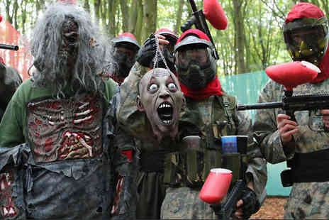 Bedlam Paintball - 1 Day Paintballing Event For 5 to 30 Players at Over 90 UK Venues - Save 0%