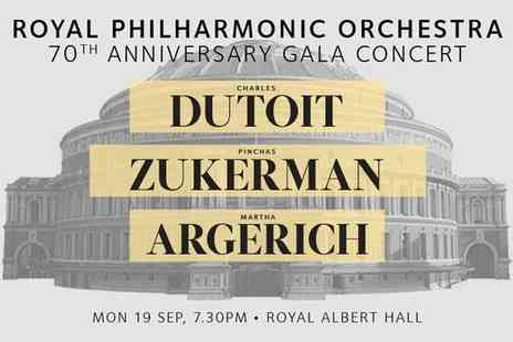 Royal Philharmonic Orchestra - Royal Philharmonic Orchestra 70th Anniversary Concert on 19 September - Save 40%