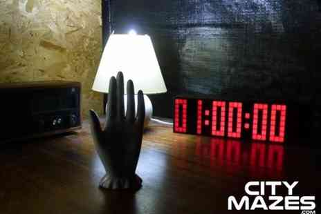 City Mazes - Real life city escape game for four, six, eight, 16 or 24 people - Save 51%