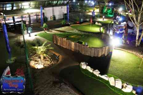 Captains Bay Adventure Golf - 18 holes of adventure golf for two - Save 44%