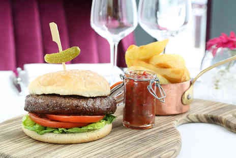 Marco Pierre White Steak House - Gourmet burger meal for two - Save 53%
