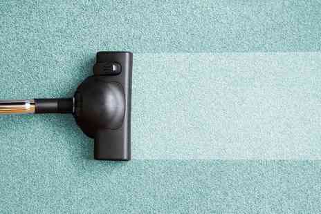 Perfect Cleaning Solutions - Dry Carpet Cleaning in Two Rooms - Save 68%