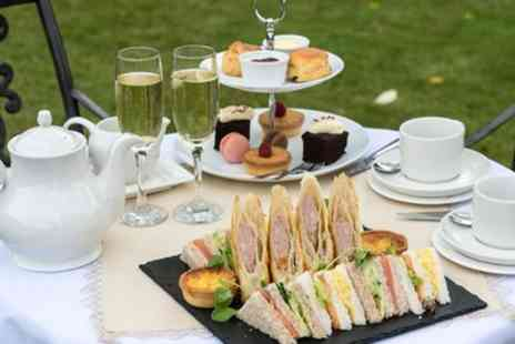 Hadley Park House Hotel - AA Rosette Awarded Afternoon Tea with Sparkling Wine for Up to Six - Save 42%
