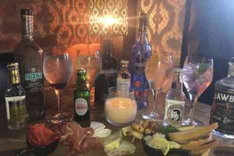 The Hole in The Wall - Speciality Gin or Selected Cocktail with a Sharing Board for Two - Save 47%