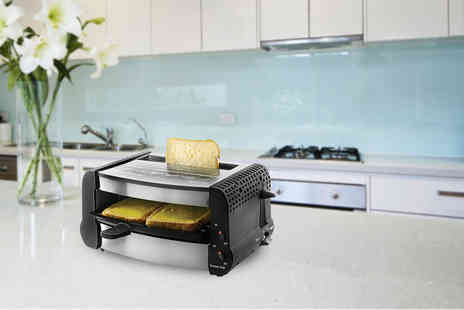 Jean Patrique - Gourmet multi use grill and toaster - Save 61%