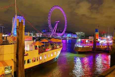 R S Hispaniola - Two course meal with Prosecco for two aboard the Good Ship Benefit and an additional sightseeing cruise - Save 0%