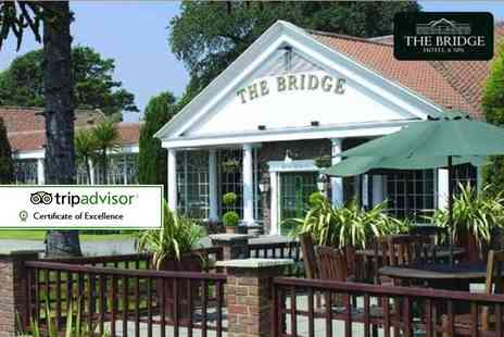 The Bridge Hotel & Spa - Three hour spa experience with bubbly for two - Save 58%