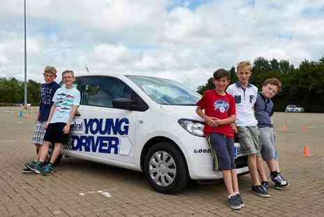 Young Driver - 30 Minute or One Hour Driving Lesson - Save 32%